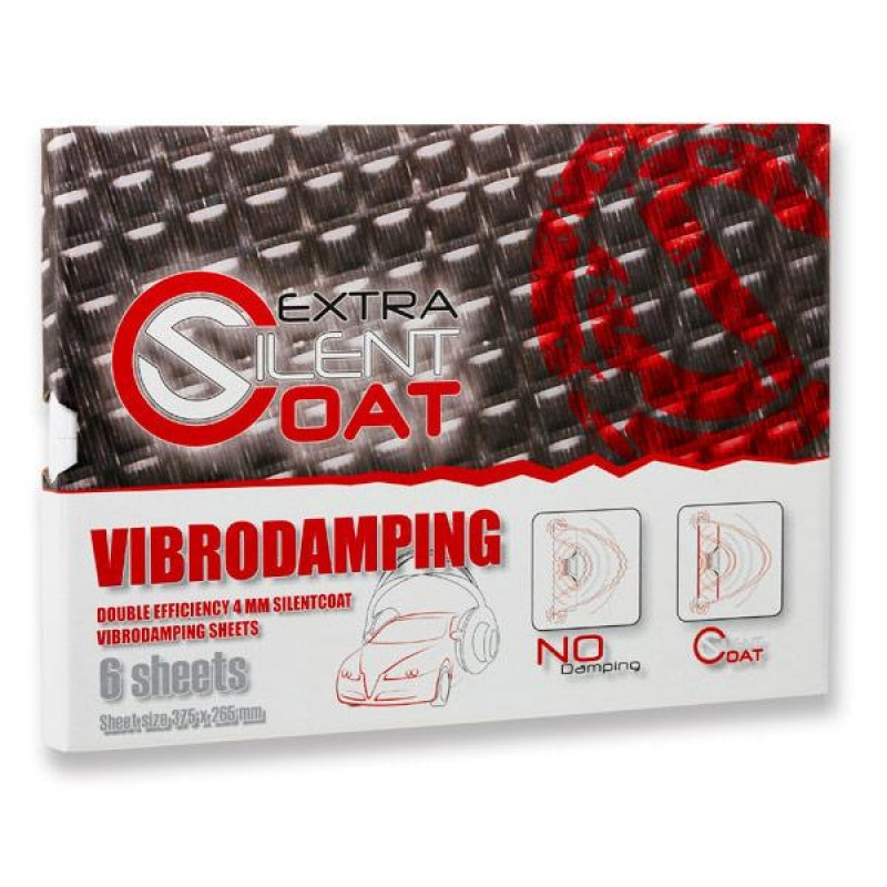 Silent Coat Extra - Volume Pack - 4mm - 12 sheets