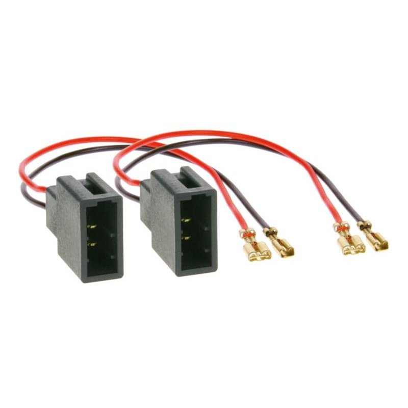 Speaker Adapter Kabel (2x) Citroën C1- Peugeot 107 - Toyota Aygo