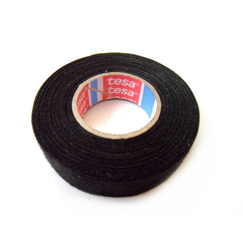 Tesa Linnen Fleece tape 19mmx25 meter