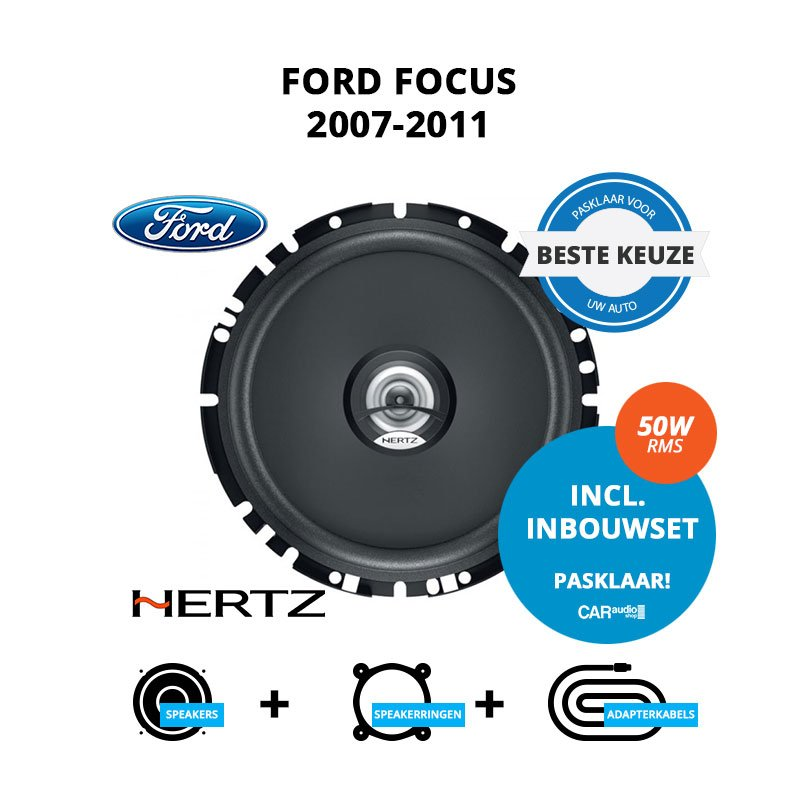 Beste speakers voor Ford Focus 2007-2011