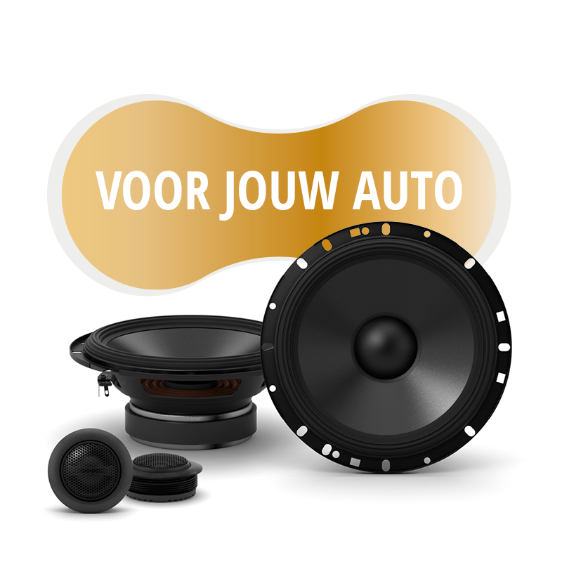 Premium speakers voor Mercedes Benz CLK Class 1997 2003