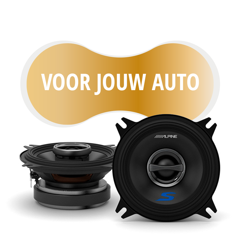 Premium speakers voor Mercedes Benz E Class (W124) 1984 1995