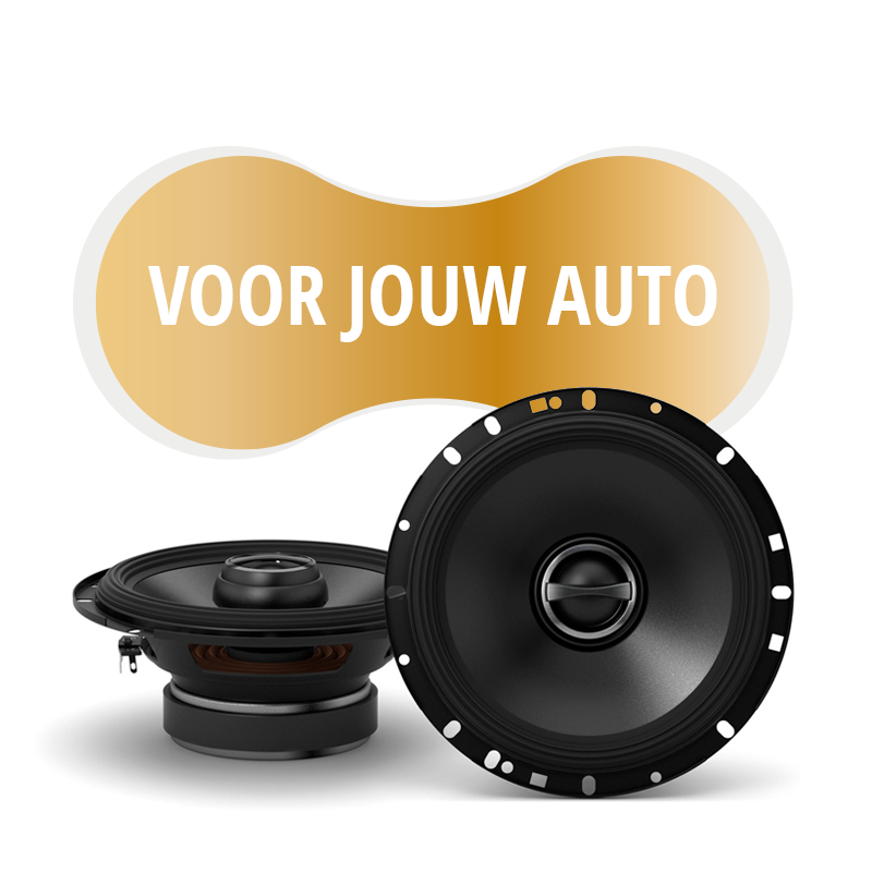 Premium speakers voor VW Golf III Cabrio 1993 1998
