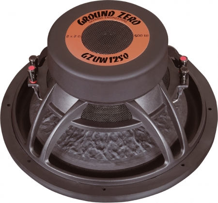 Ground Zero Uranium GZUW 12SQ - 30cm Subwoofer