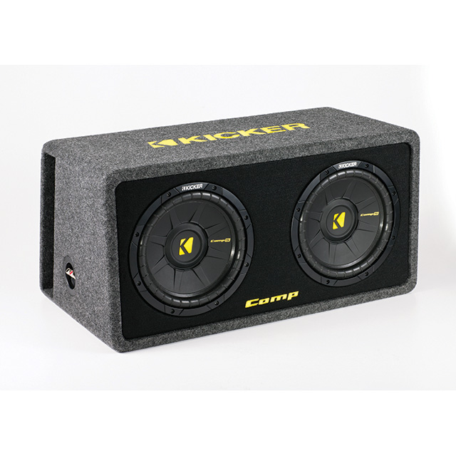 Kicker subwooferbox DCompS10