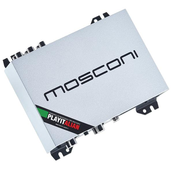 Mosconi DSP 4to6 – 4/6 Kanaals DSP met SPdif in- en uitgang Autoversterker > DSP – Digital Sound Processor (stand alone)