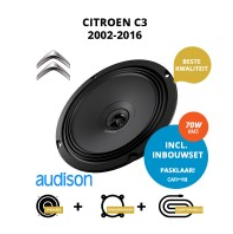 Premium speakers voor Citroen C3 2002 2016