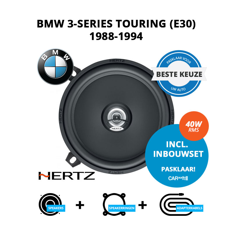 Beste speakers voor BMW 3 series Touring 1988 1994 E30