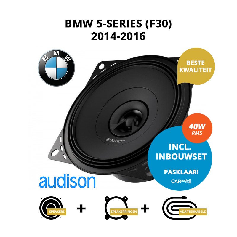 Premium speakers voor BMW 5 series 2014 2016 F30