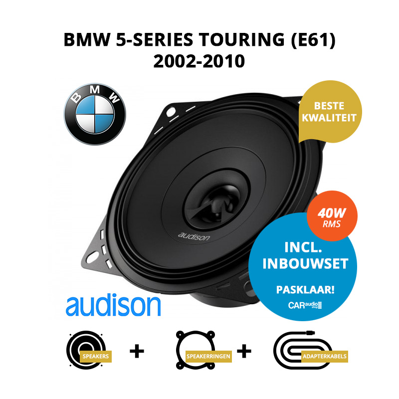 Premium speakers voor BMW 5 series Touring 2002 2010 E61