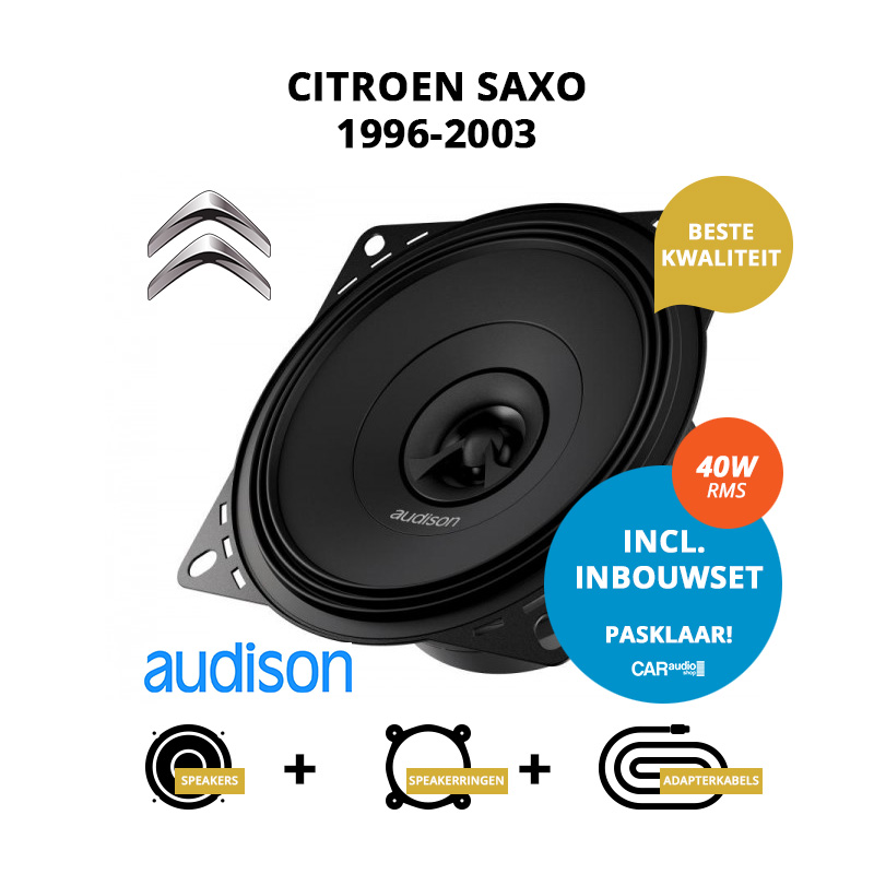 Premium speakers voor Citroen Saxo 1996 2003