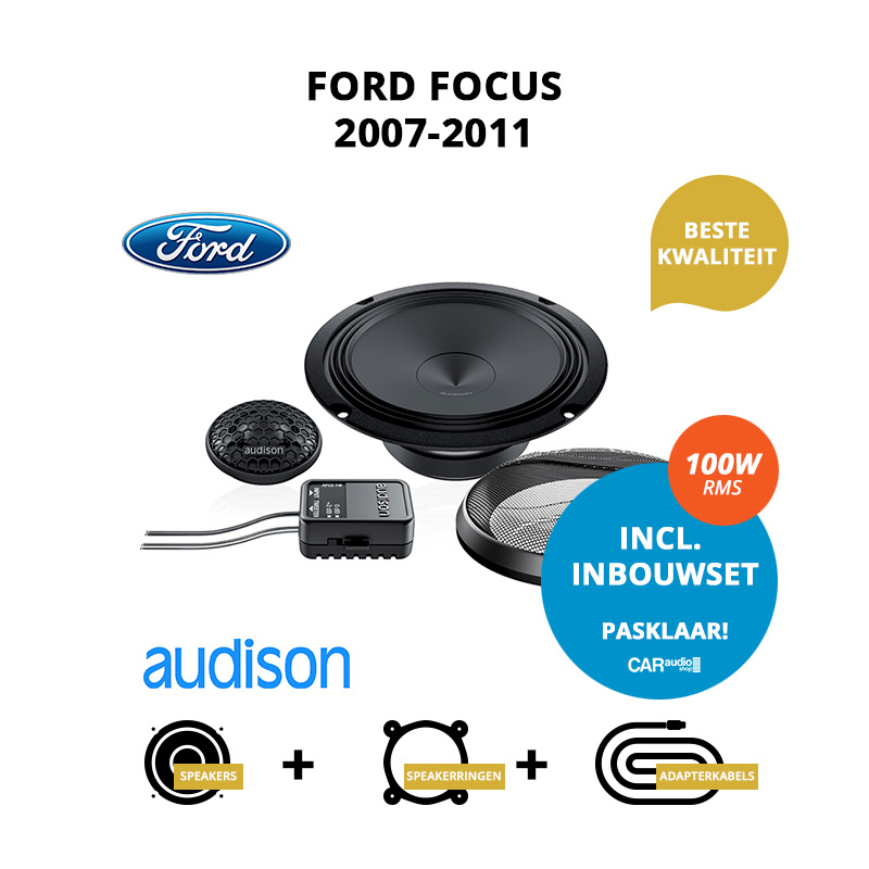 Premium speakers voor Ford Focus 2007 2011
