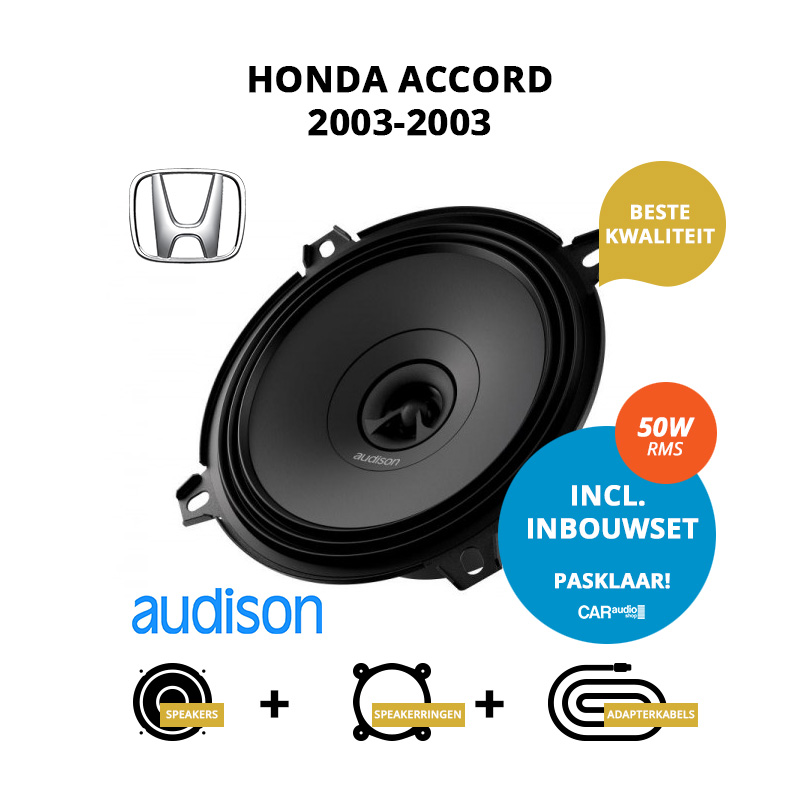 Premium speakers voor Honda Accord 2003 2003